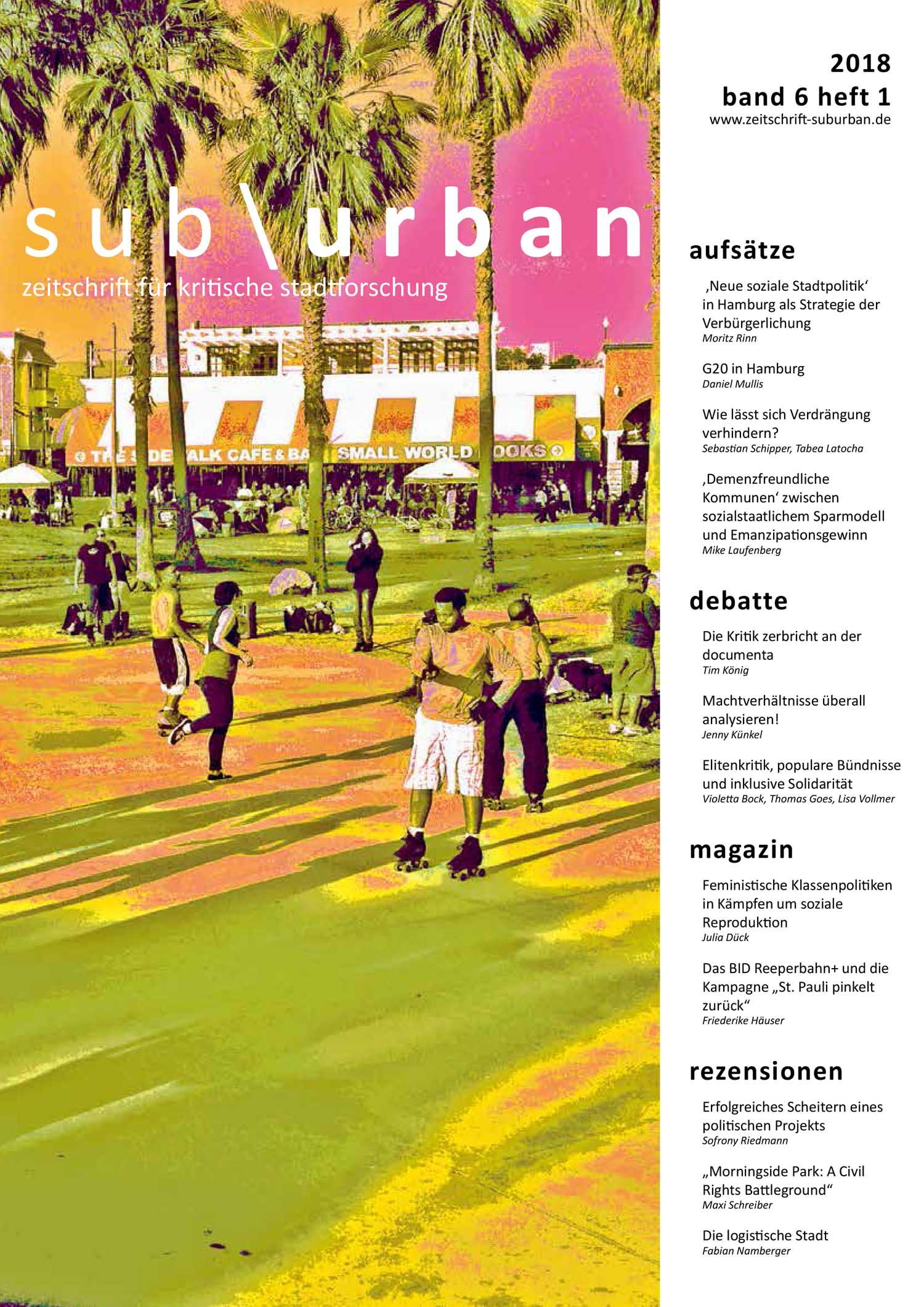 Archiv   sub\\urban. zeitschrift für kritische stadtforschung